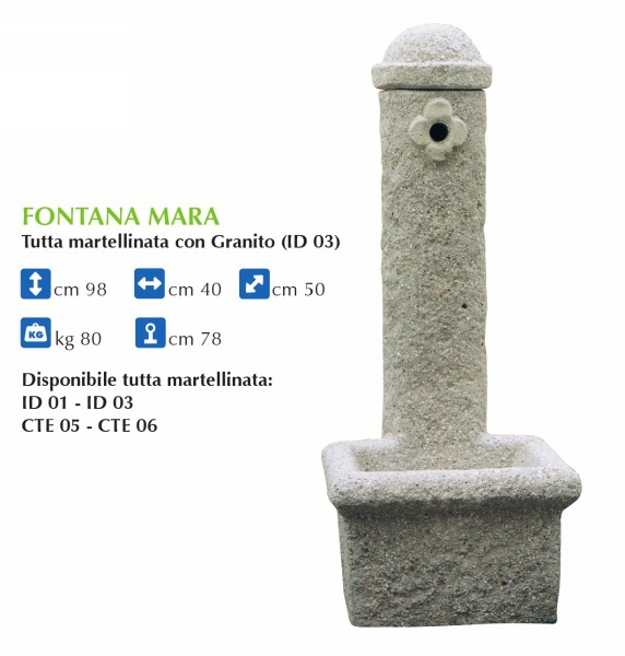 Ben noto Produzione Artigianale Fontane da Giardino - IDEAL GIARDINO SNC  HA87