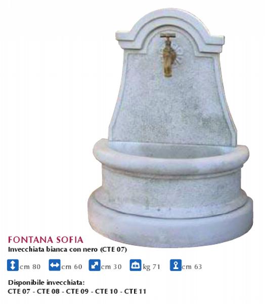 Popolare Produzione Artigianale Fontane Da Parete - IDEAL GIARDINO SNC  GQ84