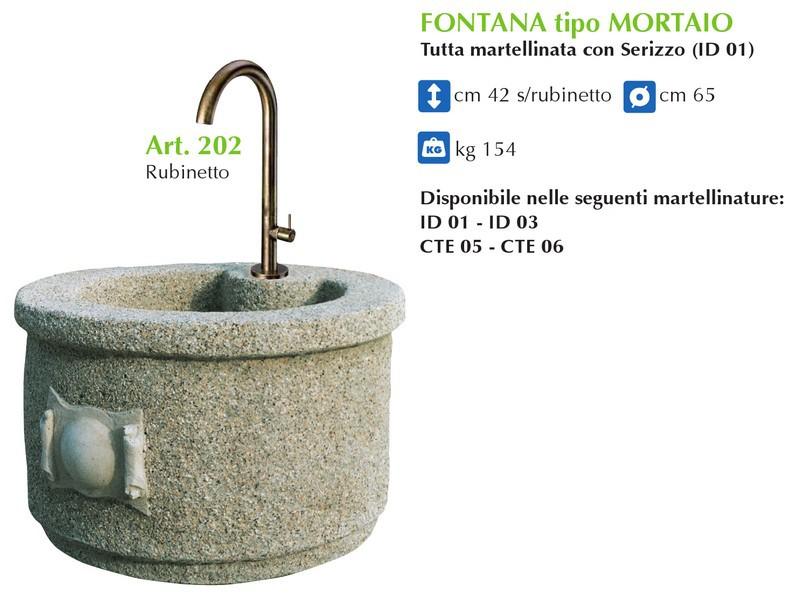 spesso Produzione Artigianale Fontane da Giardino - IDEAL GIARDINO SNC  NK08